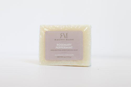 Rosemary Peppermint Shea Butter Moisturizing Soap